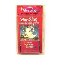 WEE SING Nursery Rhymes & Lullabies Cassette Songbook 1985 New Sing Along
