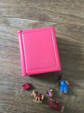 VINTAGE TEENY WEENY FAMILIES Figures Toy Shop STORYBOOK POLLY POCKET