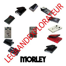 Ultimate  Morley  Pedals  Repair Service manual Schematics Collection on DVD