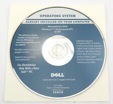 Dell Reinstallation DVD Windows 7 Professional 32-bit - System Recovery -Deutsch
