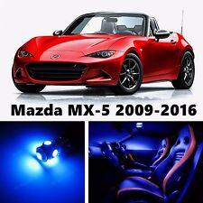 6pcs LED Blue Light Interior Package Kit for Mazda MX-5 Miata