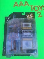 "McFarlane Toys X-FILES THE FIREMAN Cryochamber 6"" Figure MOC"