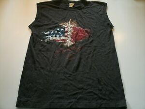 Vintage 1985 Rocky IV 4 Sleeveless T Shirt Thin Boxing Russia USA 1985 M