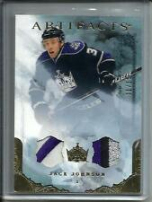 Jack Johnson 10/11 Upper Deck Artifacts Game Used Jersey Patch #11/15