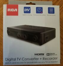 RCA Digital TV Converter + DVR Recorder DTA880 With Remote New Free Shipping