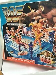 WWF - Hasbro wrestling ring -  Boxed  - RARE
