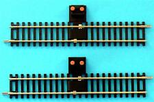 2x HORNBY POWER TRACKS R8206 R600 STRAIGHT NICKEL SILVER FREE POST
