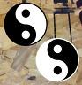 2 Ying Yang Decals Yin Yan Symbols car window stickers graphic