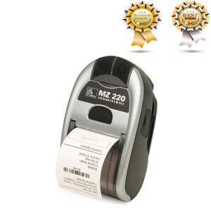 ZEBRA MZ220 PRINTER Portable Thermal Print BLUETOOTH Box NEW FREE FAST SHIPPING