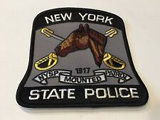NEW YORK  STATE POLICE MOUNTED PATROL PATCH