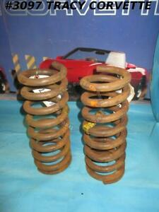 1953-1962 Corvette HD Coil Spring RPO# 684 Heavy Duty Brakes and Suspension Pair