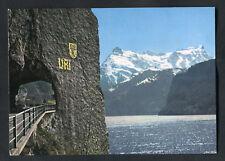 C1980s View: Road Through Urner Alps: Gitschen & Urirotstock, Switzerland