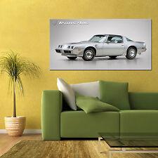 1979 PONTIAC FIREBIRD TRANS AM LARGE AUTOMOTIVE HIGH DEFINITION POSTER 24x48in
