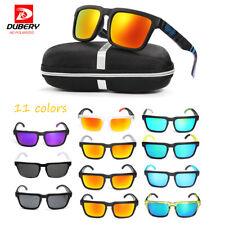 DUBERY Unisex Polarized UV400 Sunglasses Driving Fishing Cycling Eyewear w/ Box