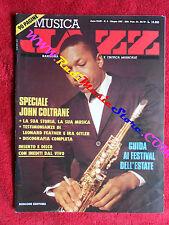 Rivista MUSICA JAZZ 6/1987 John Coltrane Tim Berne George Gershwin B:Rich No cd