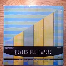 Paperbilities Reversible Scrapbook Papers - 12x12 - COOL Colors