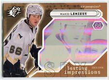 2003-04 SPx 114 Mario Lemieux 388/750 Lasting Impressions