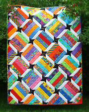 Scrappy Quilt Pattern~Fast & Easy~ Emma's Star~New~scraps or Jelly Rolls~ #422