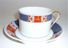 FITZ FLOYD NISHIKI FLAT CUP & SAUCER CHINA DINNERWARE 8 Available 1975