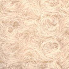 Schulte Curly-Sparse Mohair - beige gelockt  - 25 x 47 cm