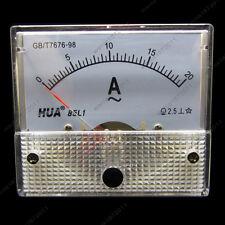 AC 20A Analog Ammeter Panel Pointer AMP Current Meter Gauge 85L1 0-20A AC