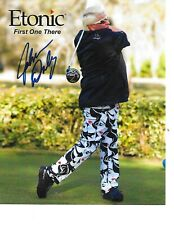 John Daly Signed/Auto Etonic Promo Photo 8x10