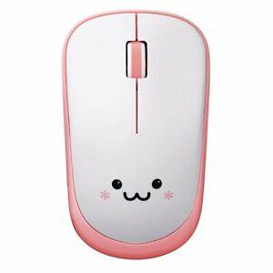 ELECOM Cute Wireless Bluetooth LED Mouse pink 3 button M-FIR08DRPN from Japan*