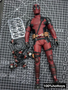 Hot Toys 1/6 Scale Deadpool 2.0 Body Outfits Head Hands Figure HT MMS490 12in.