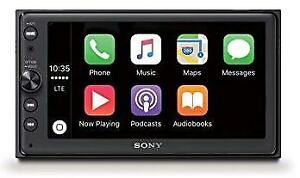 "SONY XAV-AX1000 MULTIMEDIA RECEIVER APPLE CARPLAY 6.2"" TOUCH SCREEN DISPLAY"