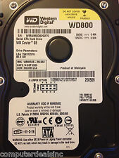 Lot of 28 x Western Digital / Hitachi / Seagate 80gb 7.2k 3Gbps SATA HDD