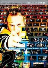 HOWARD JONES: 20TH ANNIVERSARY CONCERT AT THE SHEPHERD'S BUSH...(DVD, 2-DISC)NEW