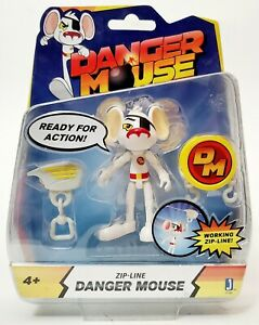Danger Mouse Zip-Line Action Figure