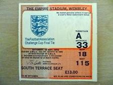Tickets-1982 FA Cup FINAL Queens Park Rangers v Tottenham Hotspur(Original, VG*)