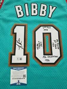 Mike Bibby Officially Licensed Adidas Autographed Signed Jersey
