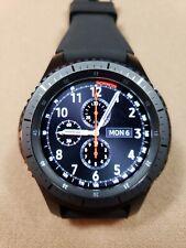 Samsung Gear S3 Frontier 46mm Dark Gray Case SM-R760 Bluetooth Smart Watch