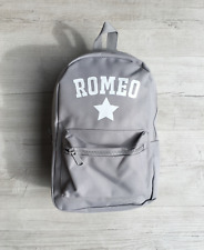 Personalised Boys Name & Star Toddler Kids Childs Back Pack Back To School Bag
