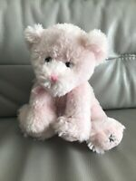Russ Berrie Shining Stars Teddy Bear Soft Toy Pink RARE plush 0707 10""