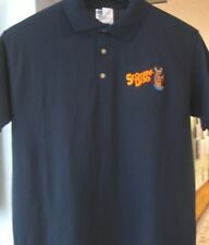 New Scooby Doo Polo Shirt Cartoon Character Scooby Doo Adult Large Dark Blue