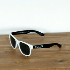 R.T.CO Rollo Sonnenbrille Sunglasses Glasses Regular White Black Wayfarer