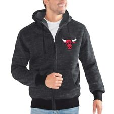 G-III Sports NBA Chicago Bulls Discovery Transitional Jacket, Large, Black