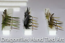 Dry Trout Fly Fishing Flies Olive Dun, Dark Olive, Olive Quill by Dragonflies
