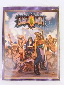 Earthdawn Second Edition SC FASA Living Room Games - Good Condition