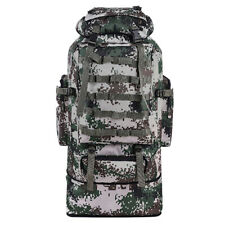 100L Outdoor Military Hiking Camping Waterproof Backpack Tactical Bag Rucksack