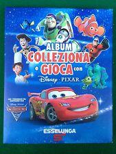 ALBUM Figurine Card COLLEZIONA GIOCA DISNEY PIXAR , Esselunga COMPLETO + Adesivi