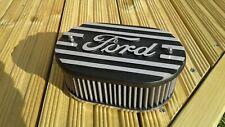 Ford escort ,capri etc alloy k&n air filter top, textured black,brand new