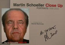 Martin Schoeller signiert Fotograf book signed autograph Signatur Autogramm