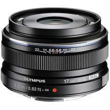 Olympus M.zuiko Digital 17mm 1 1.8 Lens - Black