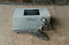 NOS Shimano RX-100 FD-A551 Front Derailleur Vintage Braze On w/ Box Road RSX