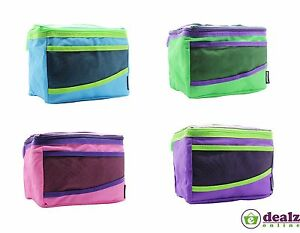 Sistema Maxi Insulated Fold Up Kids School Food Lunch Snack Picnic Bag Cooler