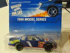 Hot Wheels Monte Carlo Stocker 1996 Model Series Blue